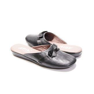 Women's Slippers Apia 15220 Nappa Negro