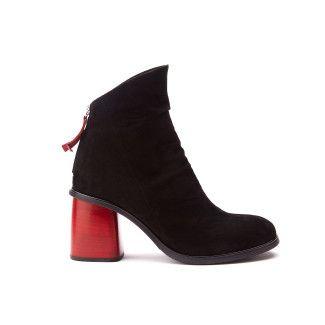 Women's Ankle Boots APIA Amelia 12 Nero