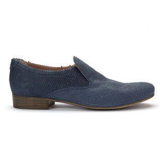 Women's Loafers APIA Cana Intagliato Blu