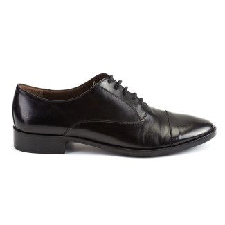 Women's Derby Shoes Apia 2010 Vit. Nero