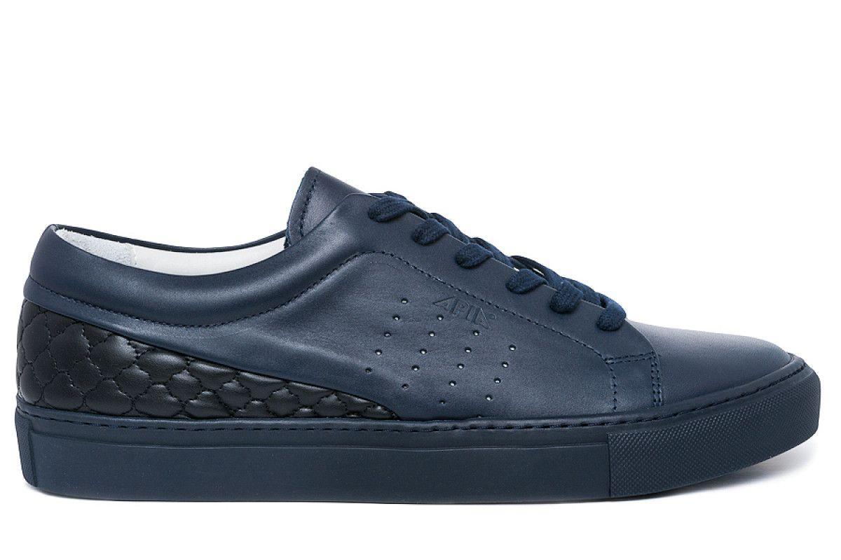 Men's Sneakers Shoes Apia 1513 Blue