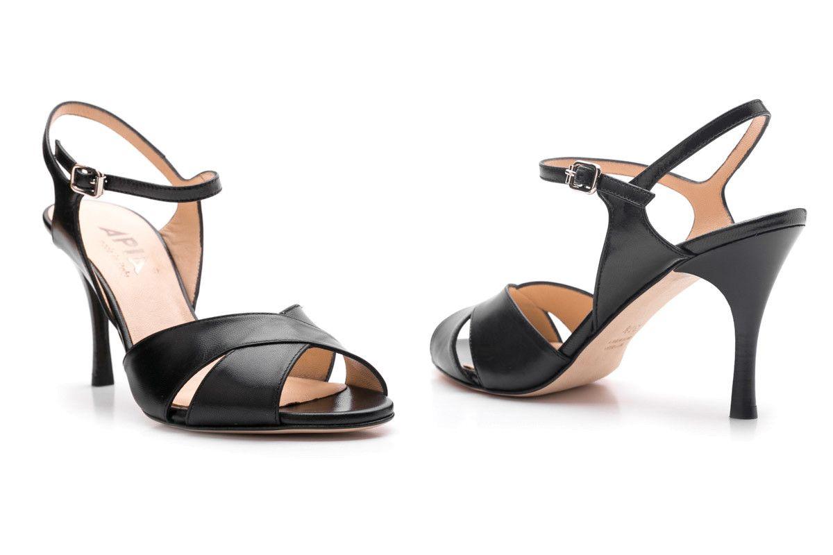 Womens Sandals Apia Sand 1 Capretto Nero