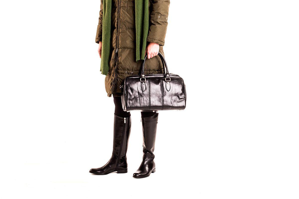 Women's Boots Apia 2016 Vitello Nero