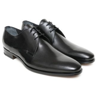 Men's Derby Shoes Apia 1032 Nero Cal.