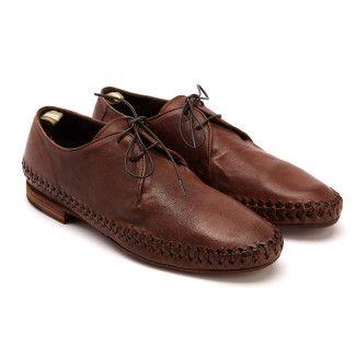 Men's Lace Up Shoes OFFICINE CREATIVE Nazar 005 Coffe