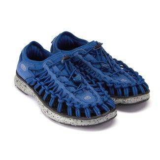 Kid's Sport Sandals KEEN Uneek O2 True Blue/Neutr.Grey