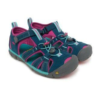 Kid's Sandals KEEN Seacamp II CNX Poseidon/Very Berry