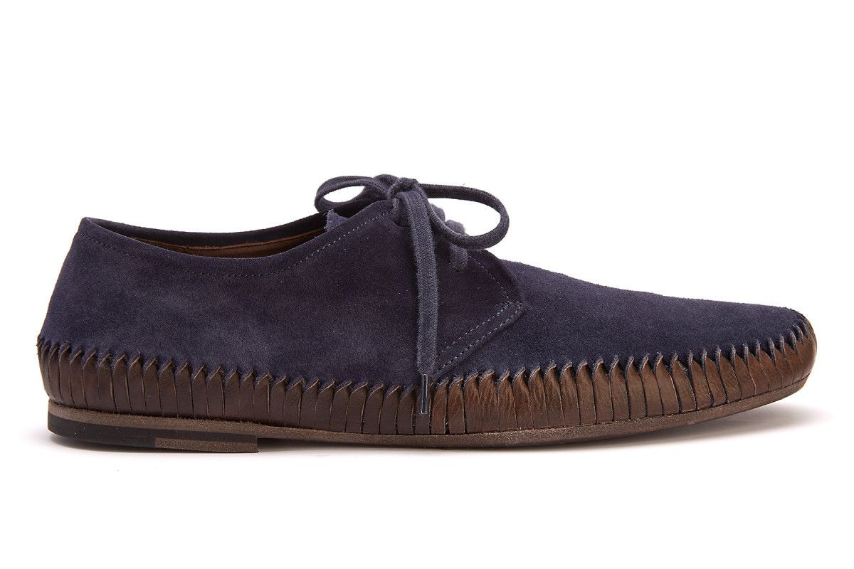 Men's Lace Up Shoes OFFICINE CREATIVE Maurice 001 Blu/Tm