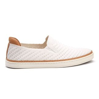 Slip-on Trainers Sammy Chevron White-001-001480-20