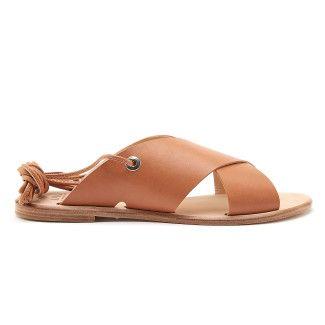 Sandals Attia Vaqueta Cuoio-000-012160-20