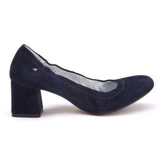 647efffe4ba Women's Block Heel Pumps APIA Projekt S Cam. Blu