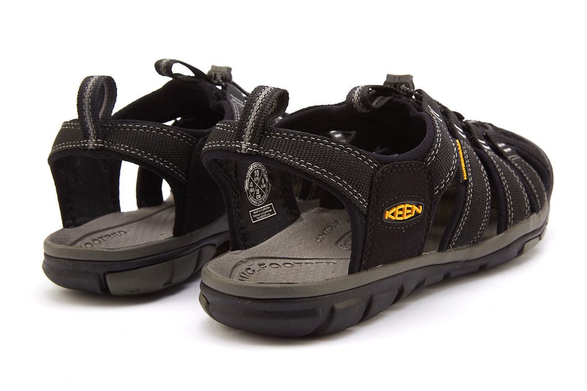 Men's Sandals KEEN Clearwater CNX Black/Gargoyle