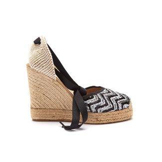 Wedge Sandals Lapisa Nero-000-011785-20