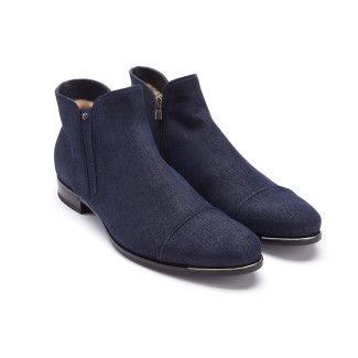 Men's Ankle Boots FABI 8758 Blu