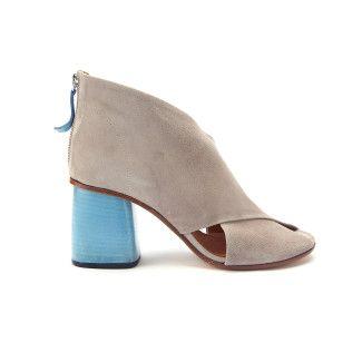 Women's Sandals APIA Minoza 80 Suede Polvere