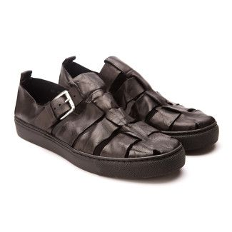 Men's Sandals APIA Mazur Nero