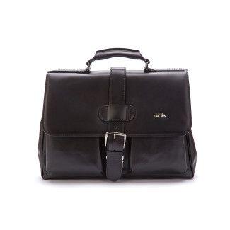 Men' Bag Briefcase APIA Adwokat 114 Nero