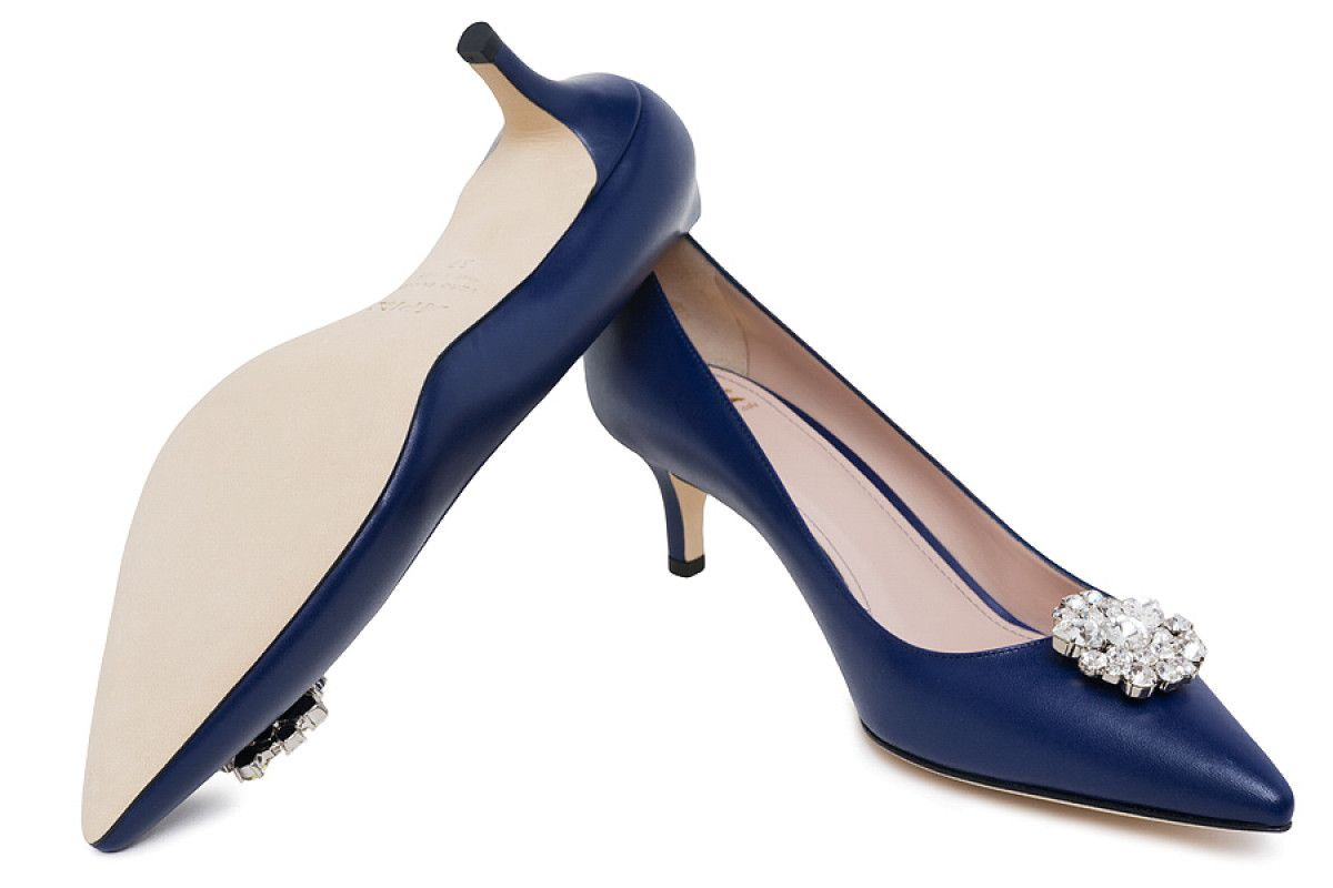 Women's Pumps Apia Ema Navy