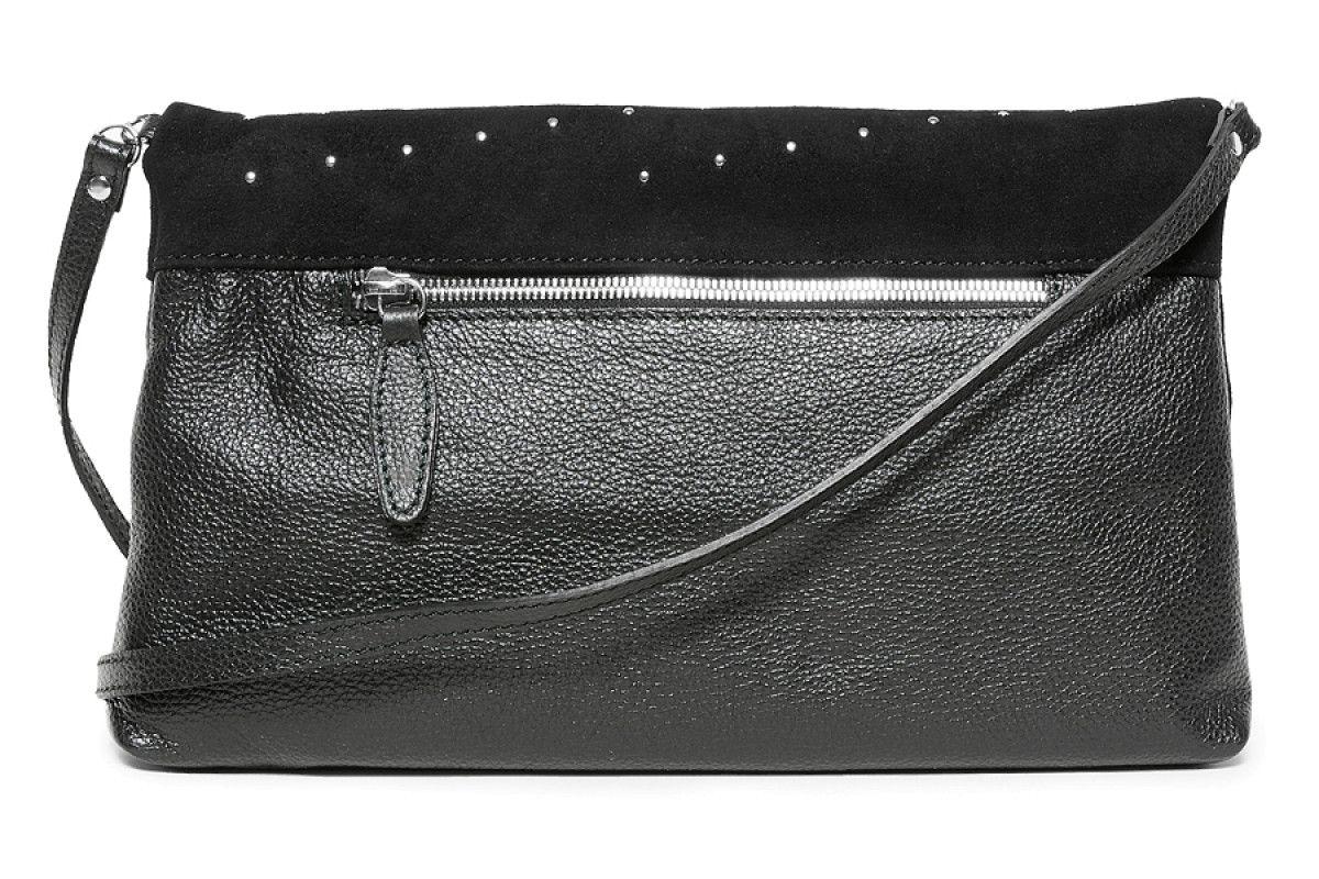 Women's Bag 210 APIA 3180 Mocro Cap.Pegaso Nero