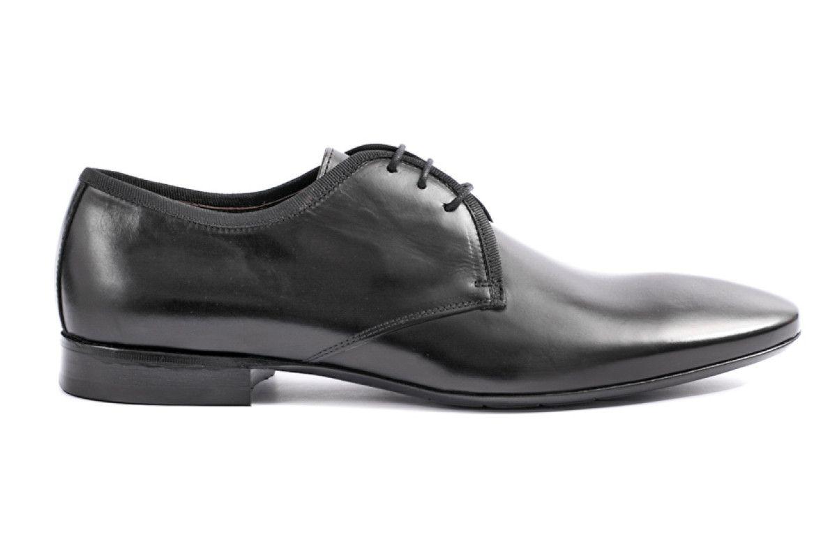 Men,s Derby Shoes Apia 3491 Sella Nero
