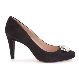 Pumps Noumea Suede Black-000-011738-20