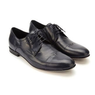 Derby Shoes Pio Navy Blu-000-012177-20