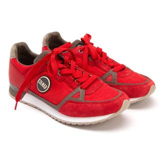 Sneakers Supreme Colors Red/Gray-001-001532-20