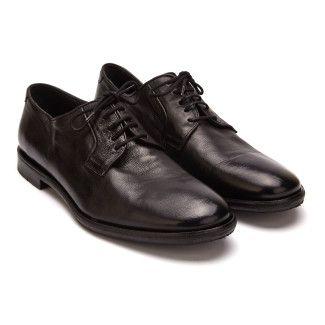 Men's Derby Shoe APIA Oporto 01 Ginger Nero