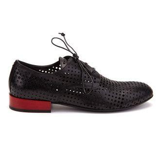 Women's Lace Up Shoes APIA Venice Nero