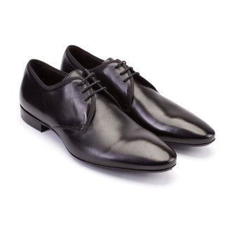 Men,s Derby Shoes Apia 3491 Sella Nero
