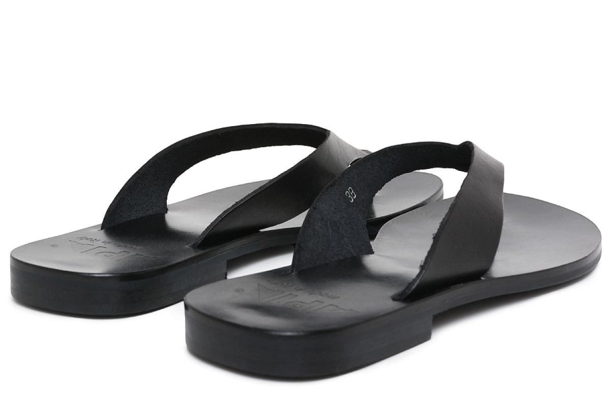 Women's Flip Flops APIA Japan Nero