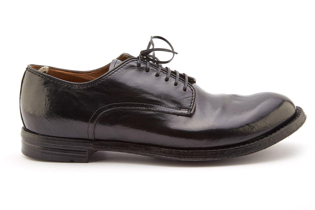 Men's Derby Shoes Officine Creative Anatomia 12 Nero