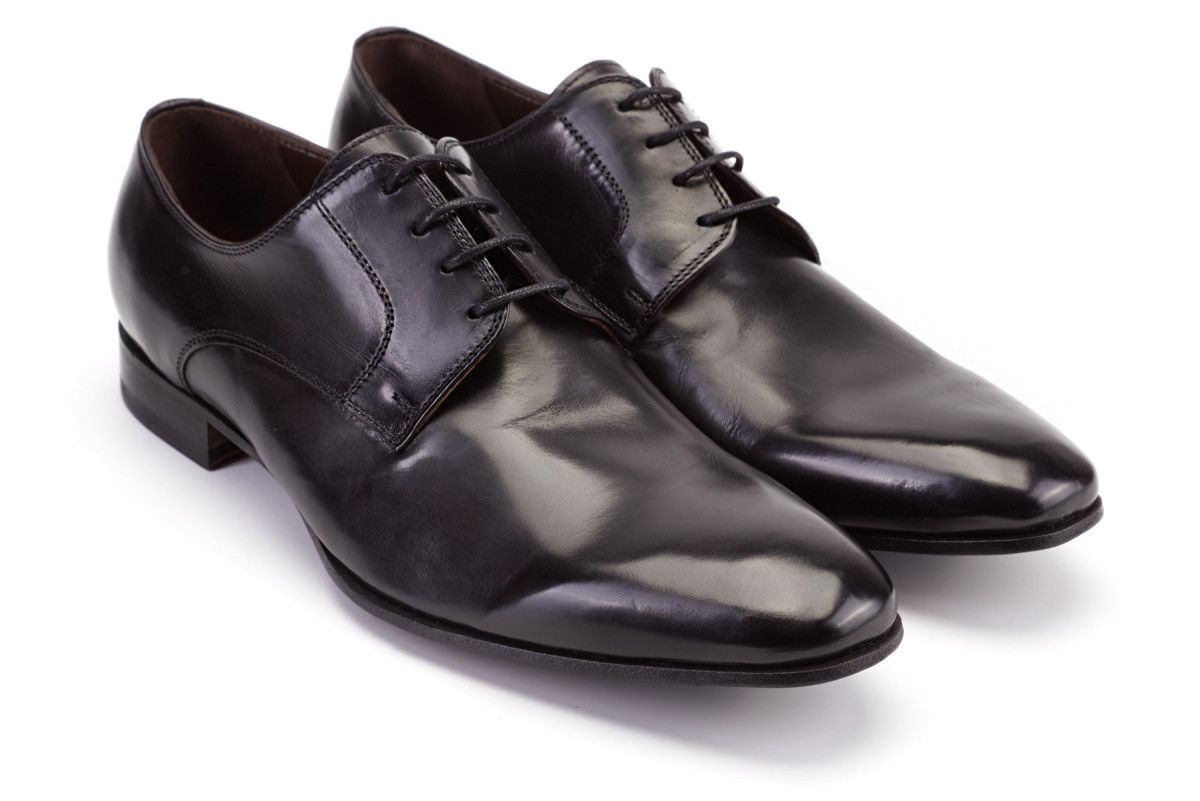 Men's Derby Shoes Apia Premier Kampur Nero