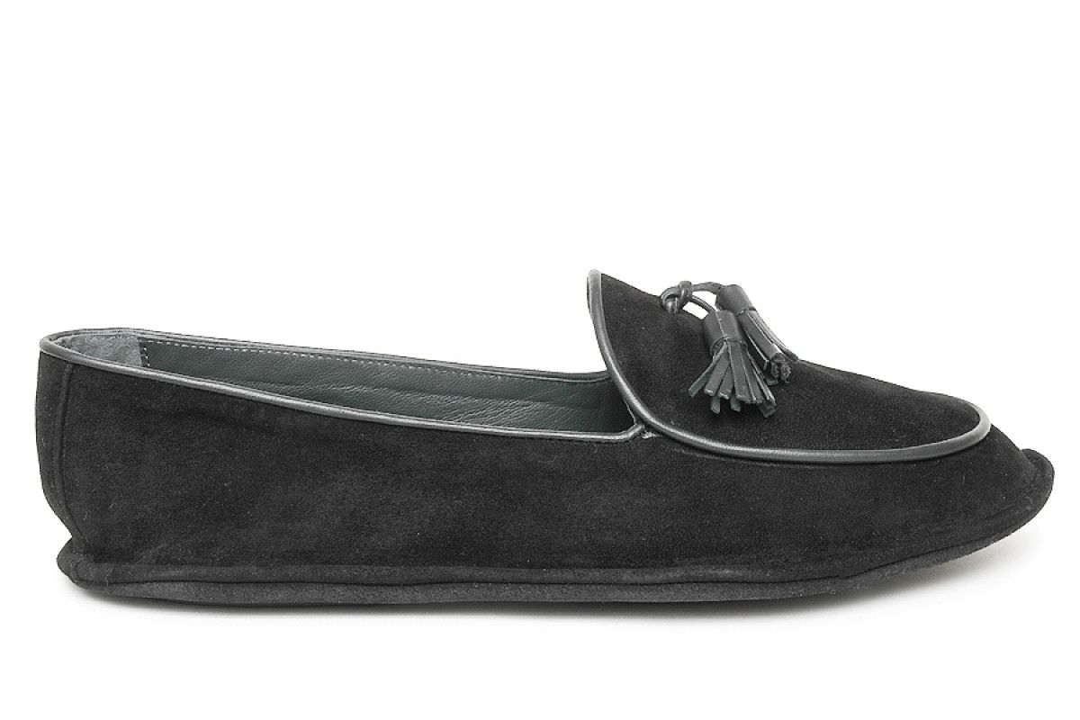 Men's Slippers Apia 17321 Nero