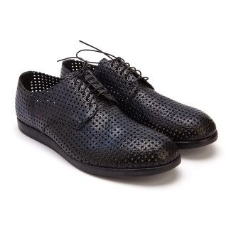 Lace Up Shoes 1598 Blu-000-012521-20