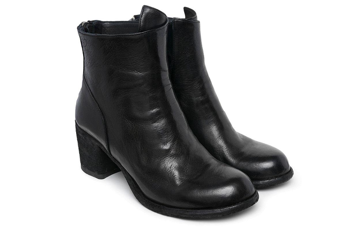 Women's Ankle Boots Officine Creative Varda 042 Nero