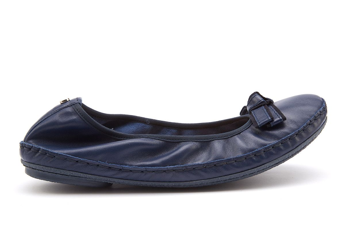 1d4dc48d3 Women's Ballet Pumps Ballerinas APIA Zuza Nappa 1310/117 Navy - APIA IT