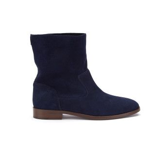 Ankle Boots Blanka Camoscio Navy-000-012014-20