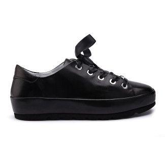 Sneakers Mari Nappa Nero-000-012143-20