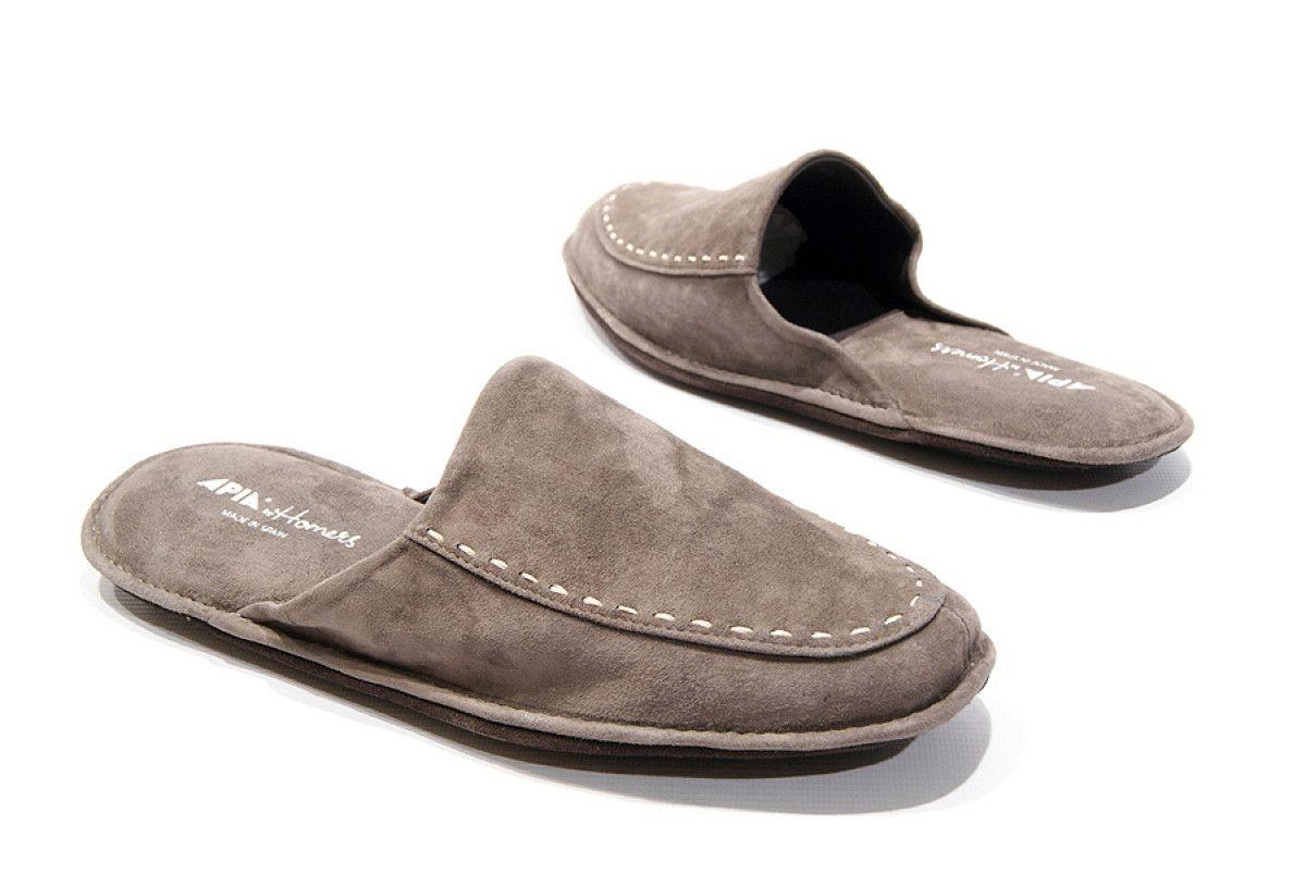 Men's Slippers Apia 12773 Grey