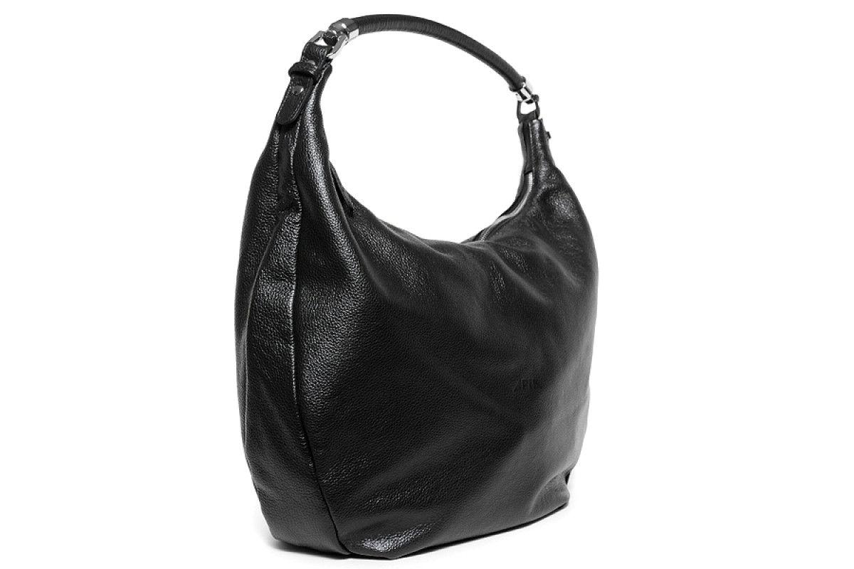 Women's Bag 210 APIA 3011 Lisc. Pegaso Nero