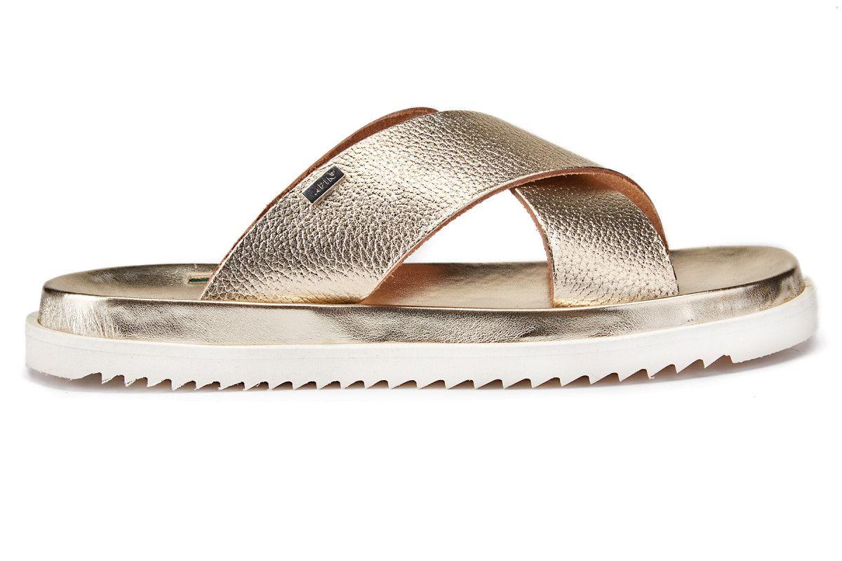 Women's Sandals APIA Pisa Bianco/Platino ...