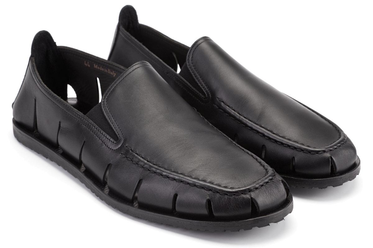 Men's Loafers Apia M6523 Nero