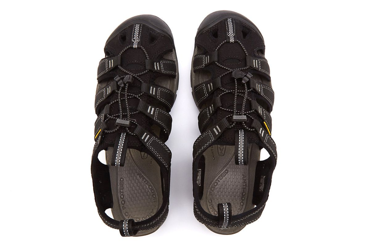 07b2b41b03d Men's Sandals KEEN Clearwater CNX Black/Gargoyle - APIA GR