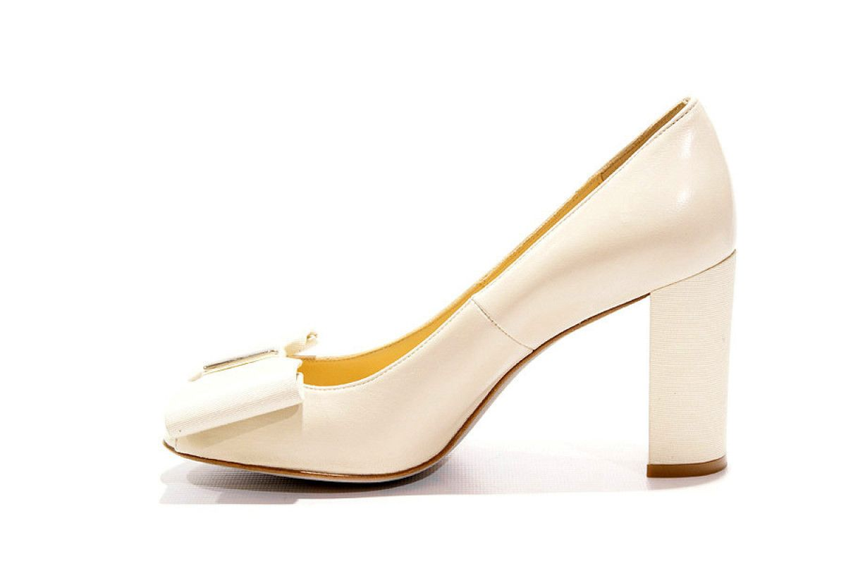 Women's Peep Toe Pumps Apia 27 Irene Beige