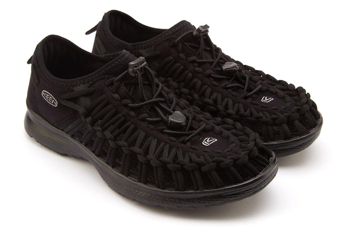 86116ec43537 Men s Sport Sandals KEEN Uneek O2 Black - APIA AT