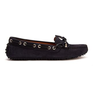 Moccasins Lucyna Navy-000-012543-20