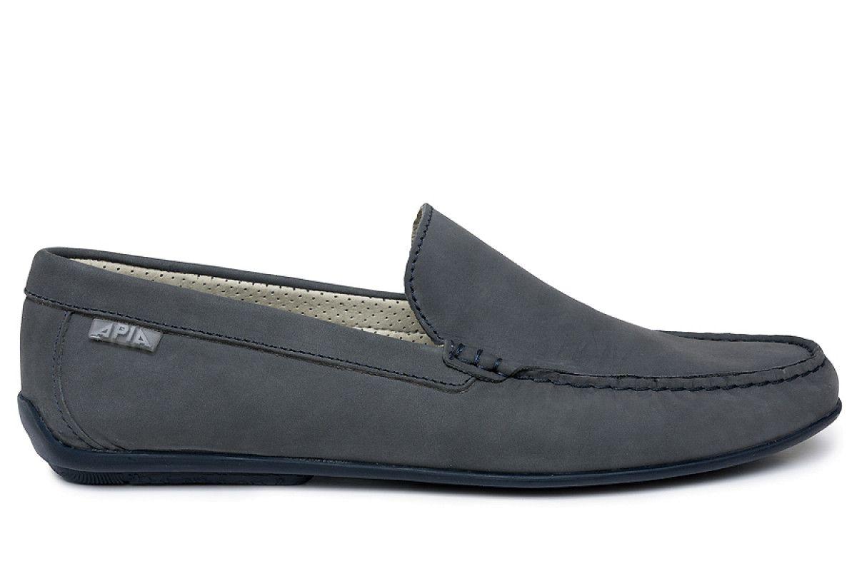 Men's Loafers Apia 5145 Nl Gray 1871/Stit. Blu