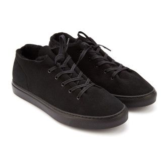 Men's Insulated Sneakers OFFICINE CREATIVE Leggera 006 Nero