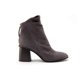 Women's Heeled Ankle Boots APIA Kasia A Grey